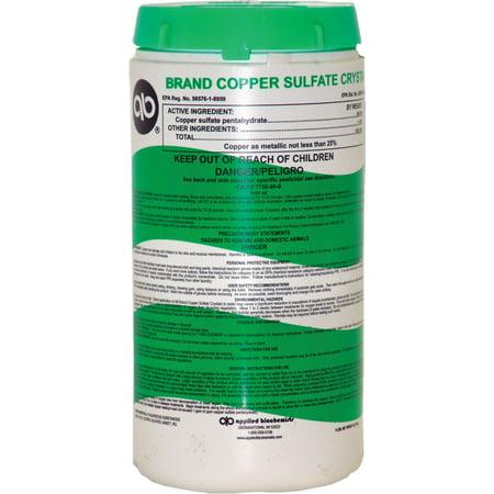 Copper Sulfate Algae (Applied Biochemists-lonza-Brand Copper Sulfate Crystal 5 Pound )