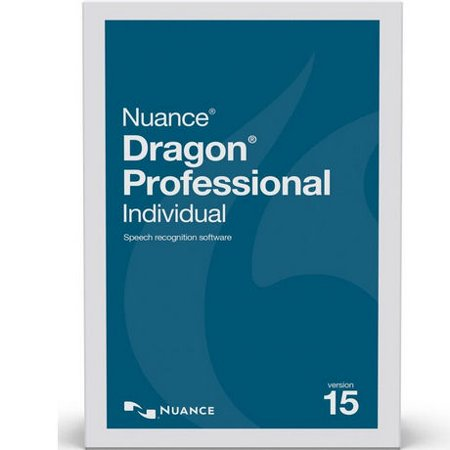 Nuance K809A-G00-15.0 Dragon Professional Individual Version 15 Speech Recognition Software