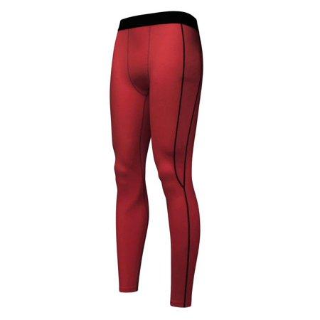 0b279a8396774 Mens Compression Basketball Long Pants Base Layers Workout Tights Leggings  - Walmart.com