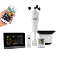 Lacrosse C83100-INT Wireless Wi-Fi Professional Weather Center with AccuWeather Forecast & Remote Home Monitoring