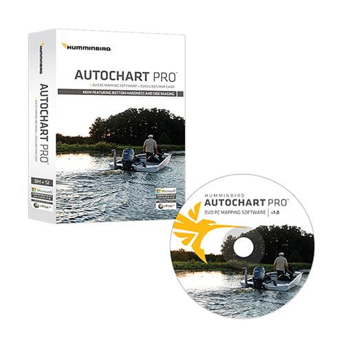 Humminbird AutoChart PRO DVD PC Mapping Software w/ Zero ...