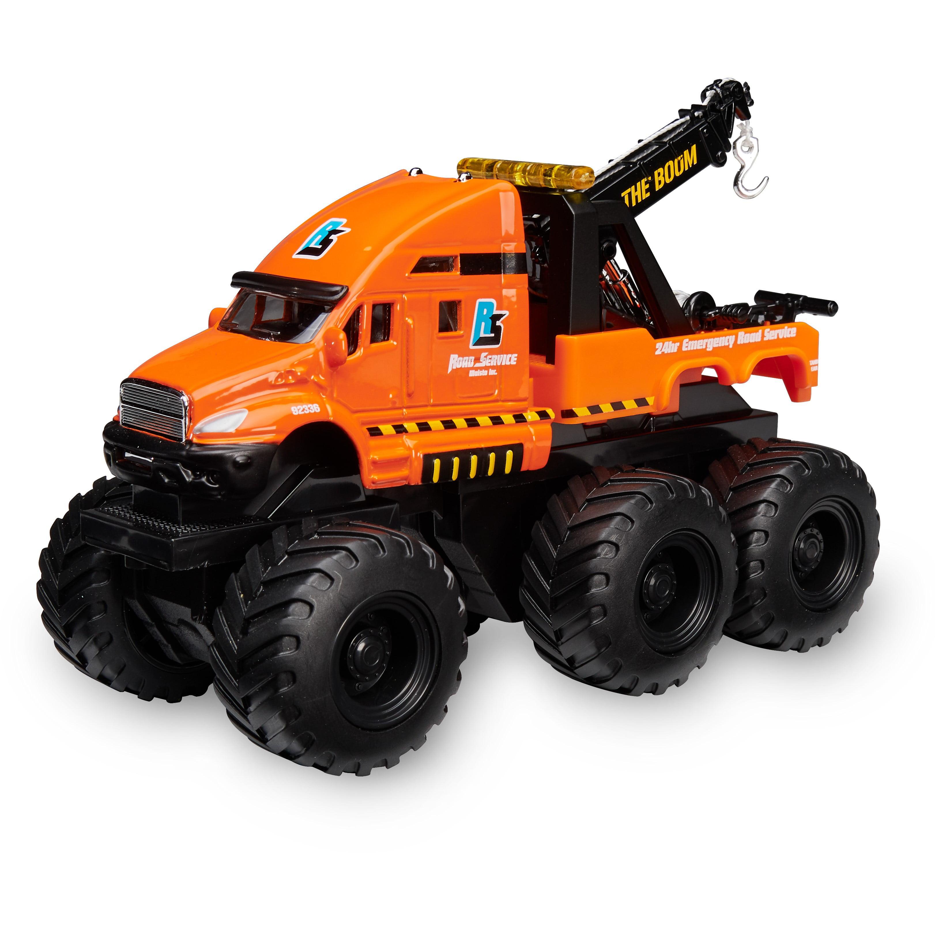 Adventure force large die-cast 6x6 construction vehicle