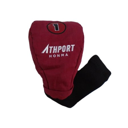 NEW Honma Athport Maroon/Black Golf Driver Headcover