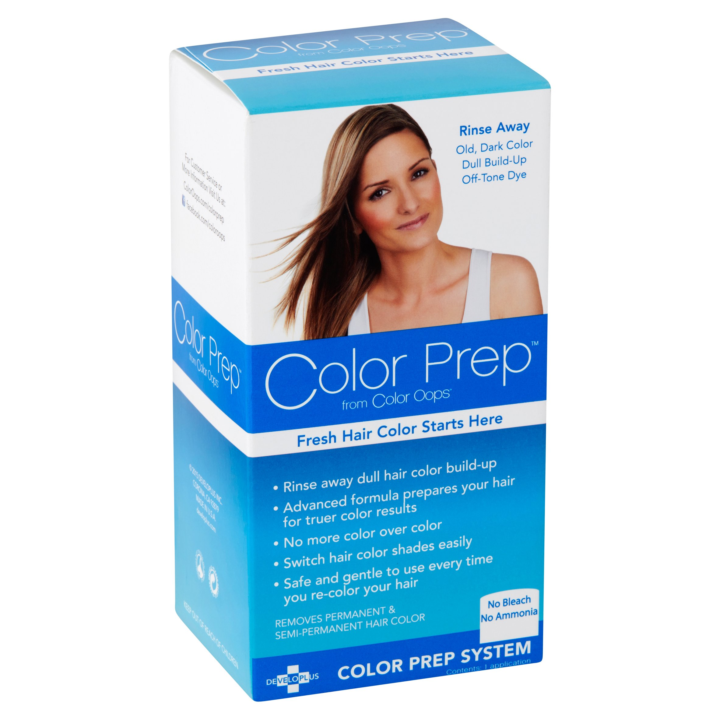 Color Prep™, Hair Color Preparation, Rinse Away Dull Color Build ...