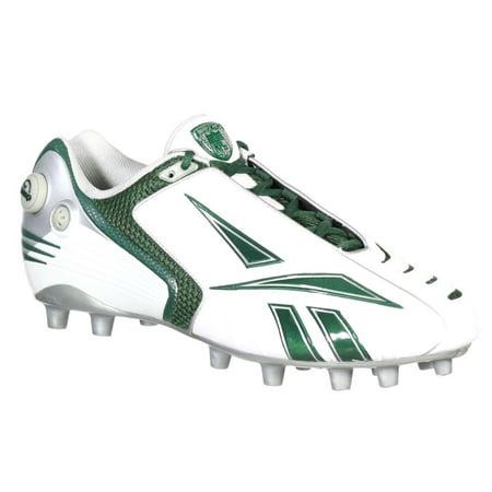 REEBOK PRO PUMP BURNERSPD LOW M2 MENS FOOTBALL CLEATS WHITE & GREEN 11 - Low White Green
