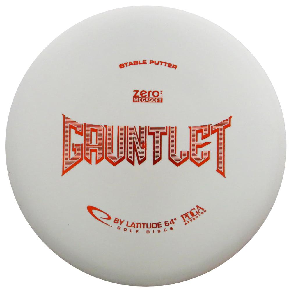 Latitude 64 Zero Megasoft Gauntlet 173-176g Putter Golf Disc [Colors may vary] - 173-176g