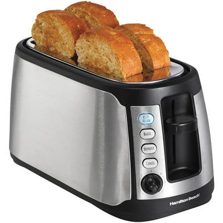 Hamilton Beach Long Slot Keep Warm Toaster   Model  24810