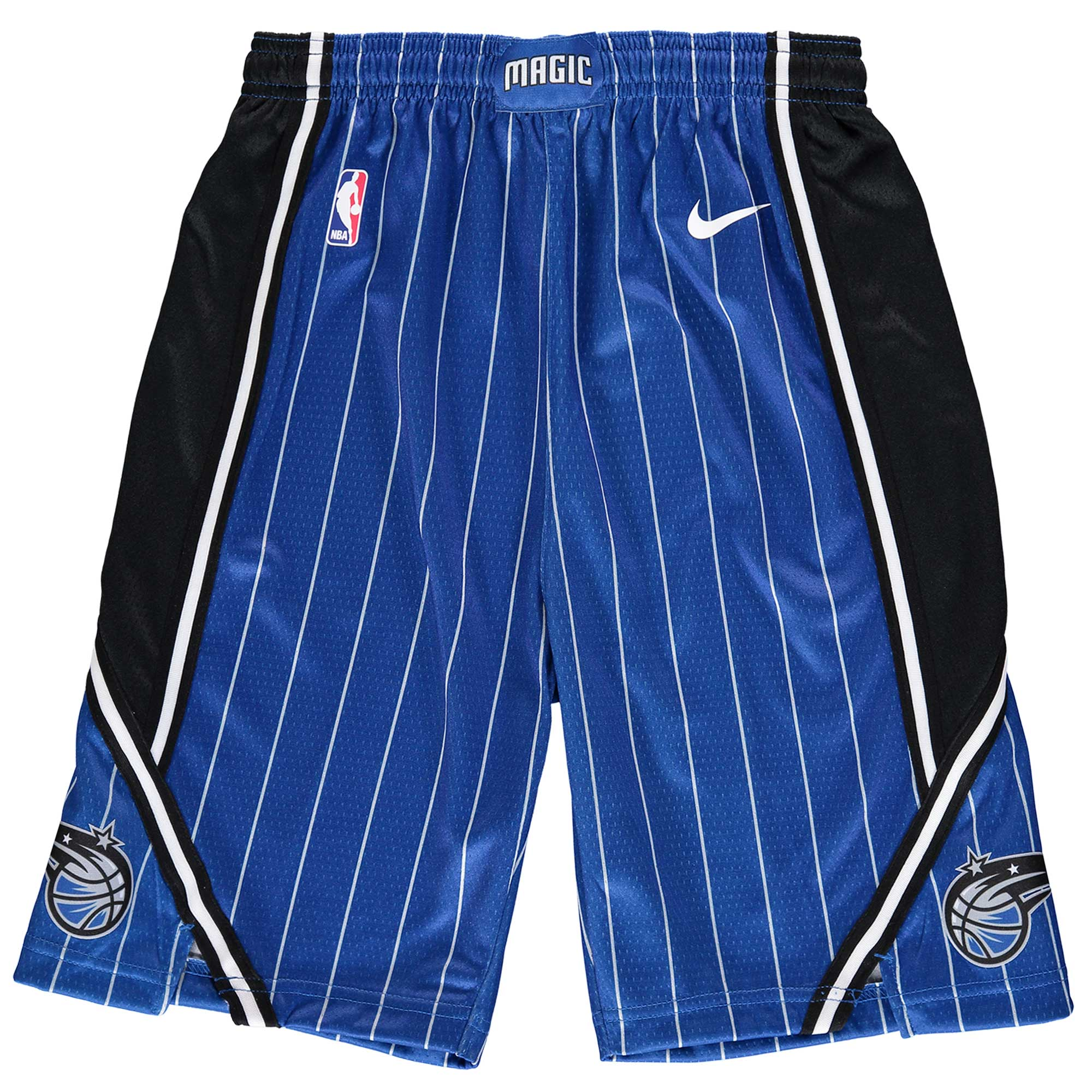Orlando Magic Nike Youth Swingman Icon Performance Shorts - Blue/Black