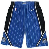 Orlando Magic Nike Youth Swingman Icon Performance Shorts - Blue/Black