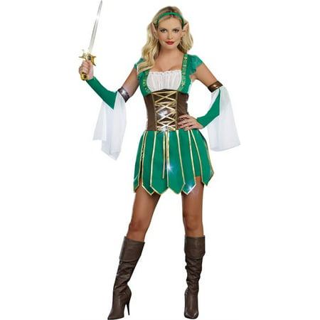 Warrior Elf Womens Costume - Elf Warrior Costume