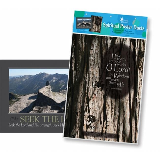 Barker Creek BC-1893 Poster Duets - Natural Wonders