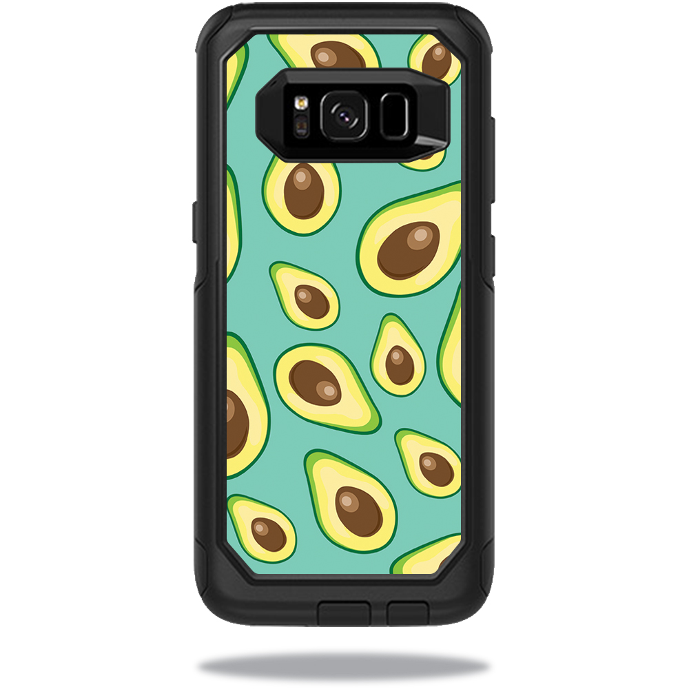 MightySkins Protective Vinyl Skin Decal for OtterBox CommuterSamsung Galaxy S8 Case sticker wrap cover sticker skins Seafoam Avocados