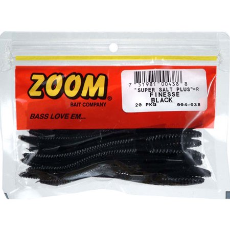 Zoom SLT+Finesse Worms, 20pk