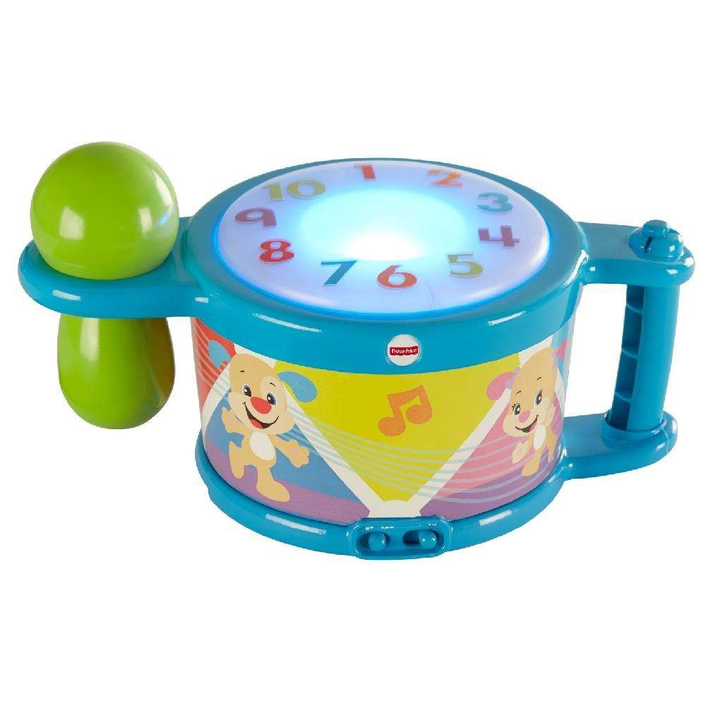 Drum set Fisher-Price Laugh /& Learn Tap /& Teach Drum Educational Fun Gift