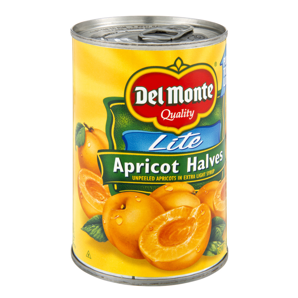 Del Monte® Lite Unpeeled Apricot Halves in Extra Light Syrup 15 oz. Can