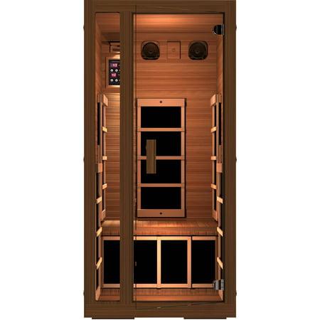 freedom 1 person far infrared sauna. Black Bedroom Furniture Sets. Home Design Ideas