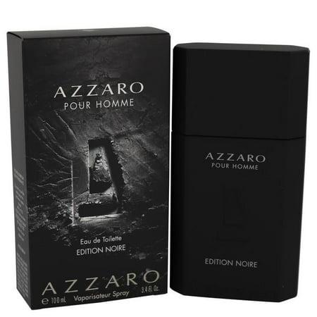 Azzaro Pour Homme Edition Noire by Azzaro - Men - Eau De Toilette Spray 3.4 oz