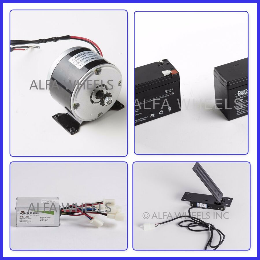 250W 24V Accelerate Pedal Foot Accelerate Pedal Throttle Speed Control Brake Pedal Car Replacement Accessories Fit for Auto Universal Electric Motor Scooter