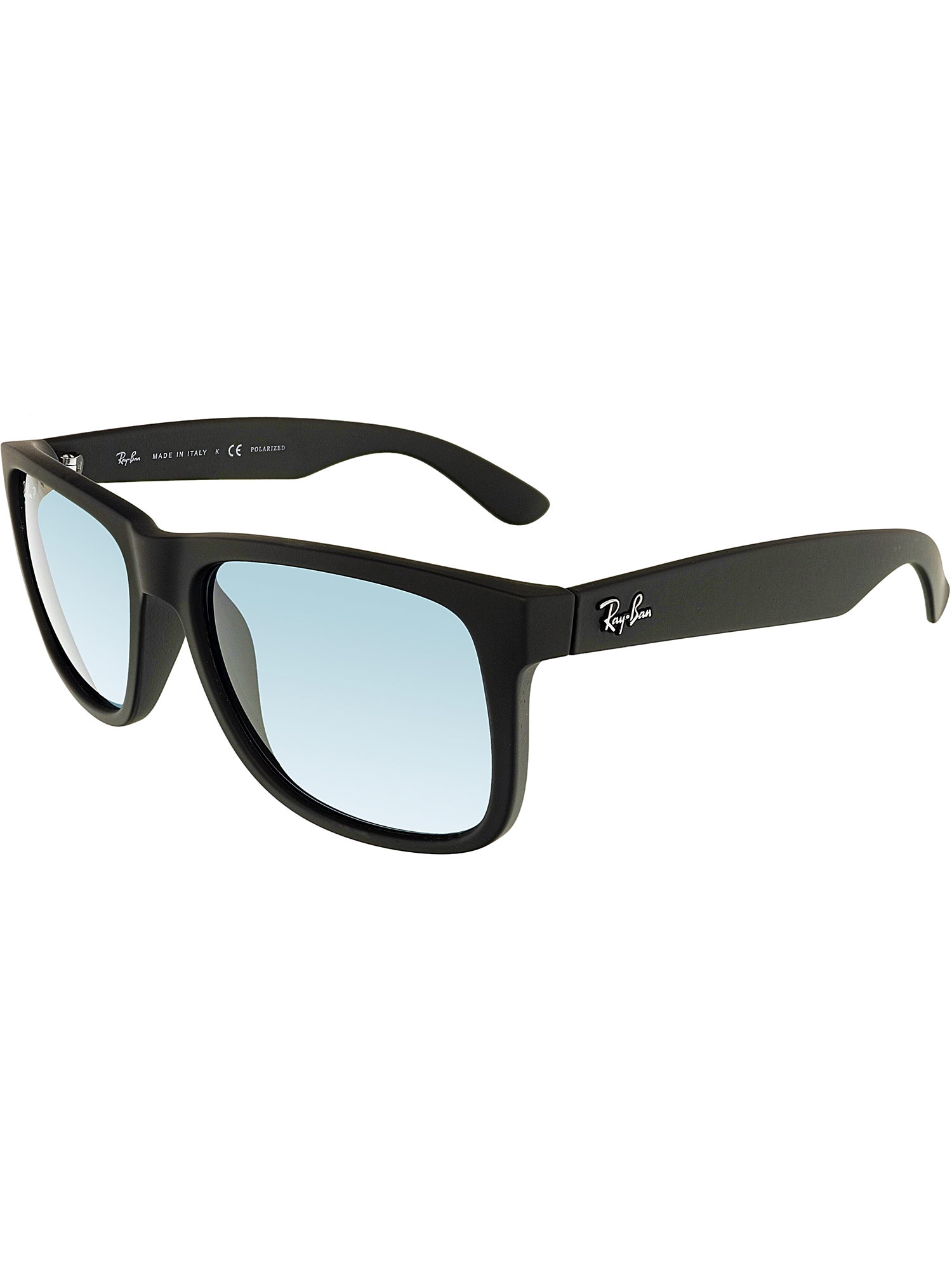 2c108246cf ... closeout ray ban justin polarized blue classic sunglasses rb4165 622 2v  55 8cb98 cf533