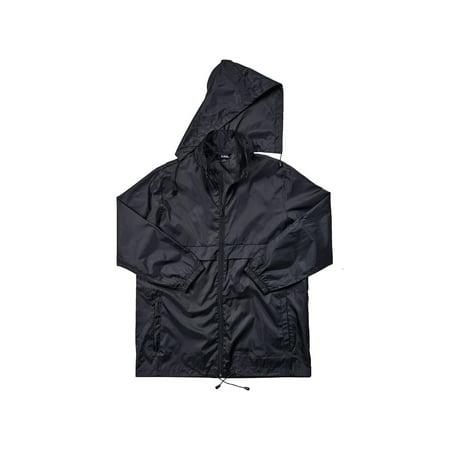 Packable Rainwear - Black, size SM/MD