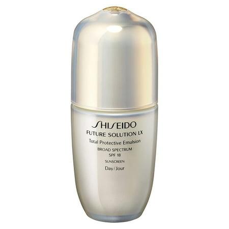 Shiseido Future Solution LX Total Protection Emulsion Facial Serum, SPF 18, 2.5 Oz