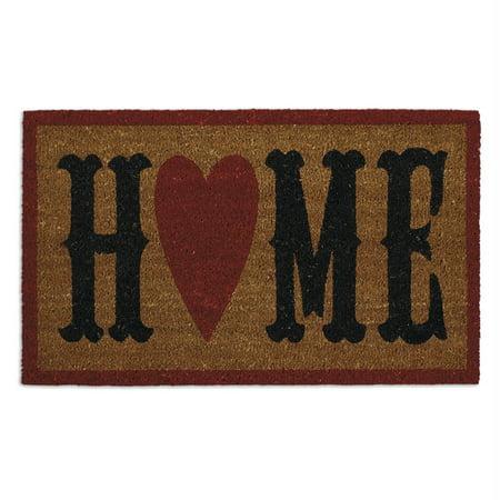Home Depot Doors Exterior (DII Home Heart Doormat )