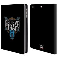OFFICIAL WWE ROMAN REIGNS LEATHER BOOK WALLET CASE COVER FOR APPLE IPAD