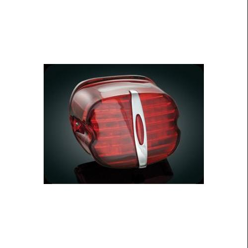Kuryakyn LED Taillight Conversions Red Deluxe Fits 88-11 Harley-Davidson FLHTC Electra Glide Classic