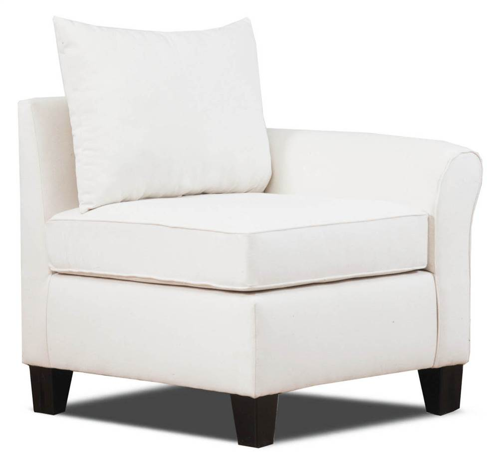 Carolina Accents Belle Meade Right Armchair, Natural by Carolina Accents