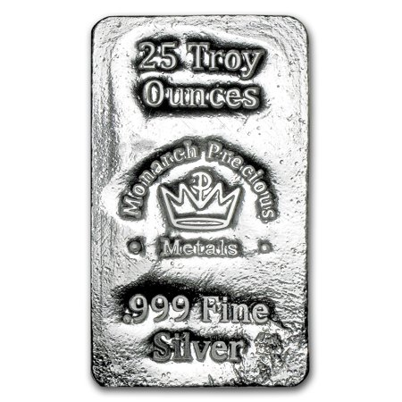 25 Oz Hand Poured Silver Bar Mpm