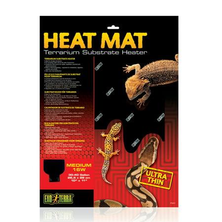 - Exo Terra Heat Mat Terrarium Substrate Heater, 16-Watt