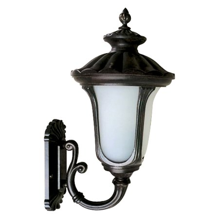 Yosemite Home Decor Tori FL5318U Outdoor Wall Sconce - Black