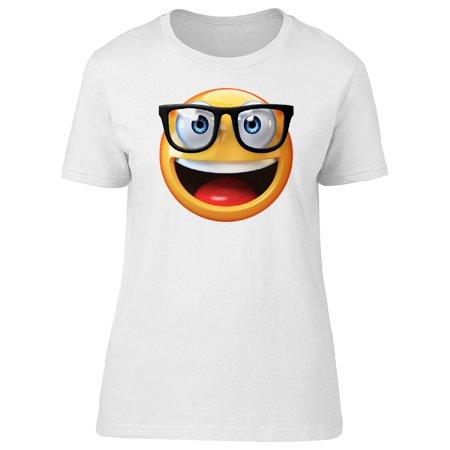 Nerd Emoji Tee Women's -Image by Shutterstock (Trendy Nerd)