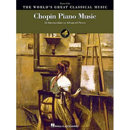 Chopin Piano Music : 52 Intermediate to Advanced Pieces