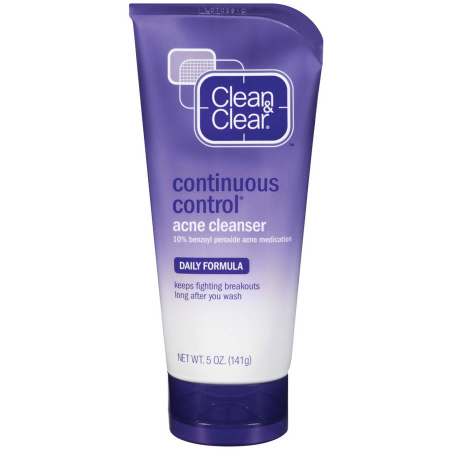 Clean & Clear Continuous Control Acne Cleanser Cleansers 5 Oz