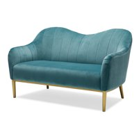 Channel Tufted Sloping Back Loveseat, Multiple Colors by Drew Barrymore Flower Home
