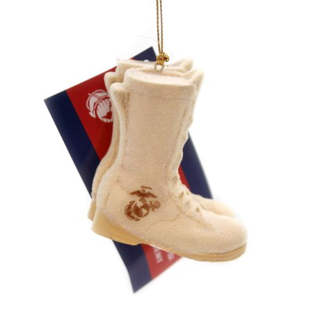 United States Marine Corps Boots Resin Christmas Ornament ()