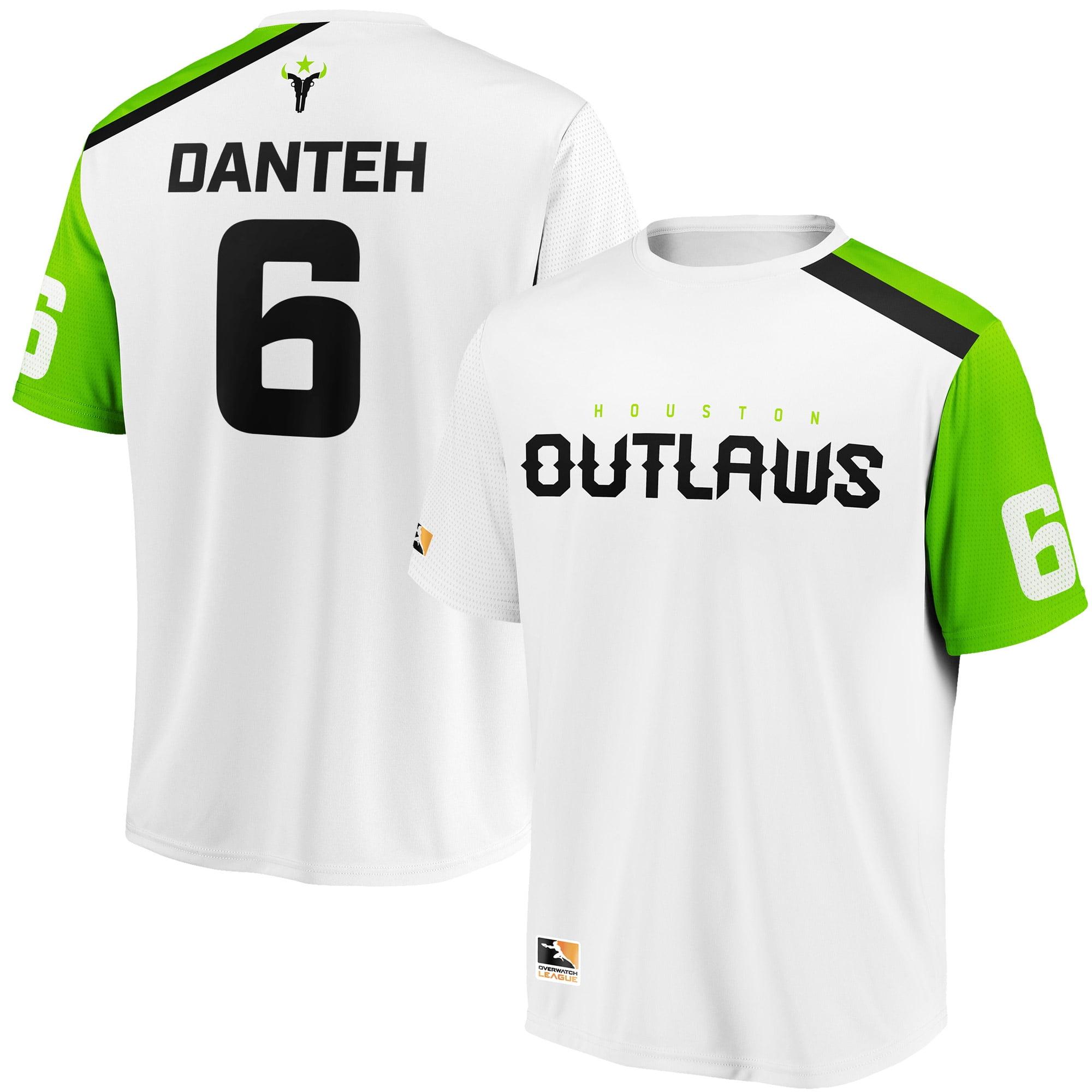 Danteh Houston Outlaws Overwatch League Replica Away Jersey - White