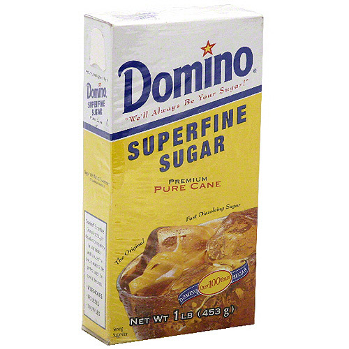 Domino Superfine Granulated Sugar, 16 oz (Pack of 12)