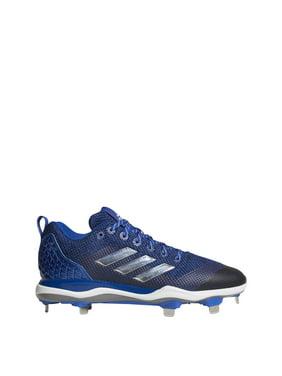 e3e0f68b2 Product Image New Adidas Mens PowerAlley 5 Baseball Cleat SS 7.5 Royal White  B39184