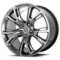 "Replica 137H Jeep SRT8 20x9 5x5"" +34mm Hyper Black Wheel Rim 20"" Inch"