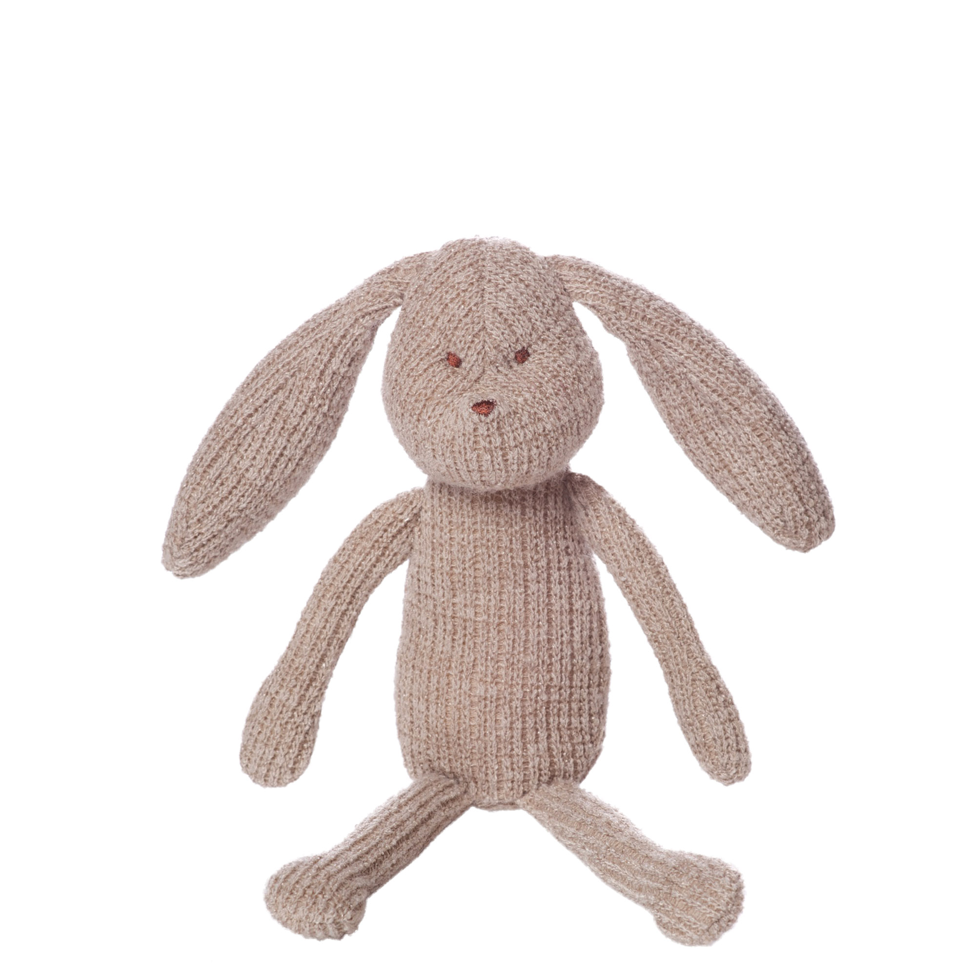"Manhattan Toy Knits 5"" Clover Bunny Stuffed Animal"