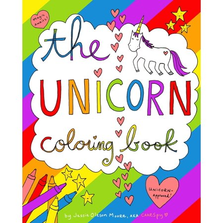 The Unicorn Coloring Book (Paperback) - Walmart.com