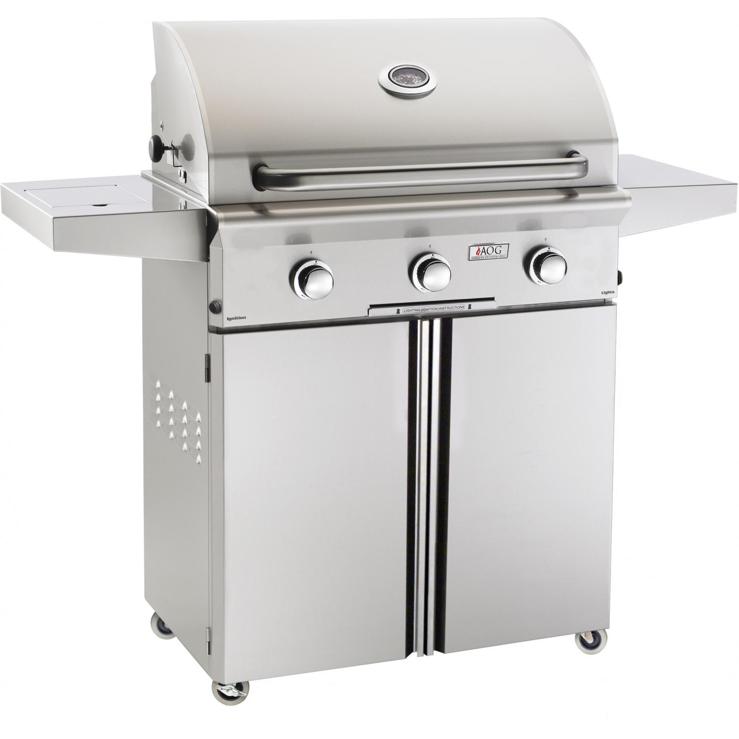 American Outdoor Grill 30PCL-00SP L-Series 30 Inch Propane Gas Grill On Cart