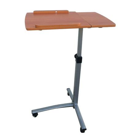 Multipurpose Small Adjustable Laptop Side Table Sofa Corner Coffee Lazy Bedside Reading Eating Desk