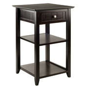 Winsome Wood Burke Home Office Printer Stand, Coffee Finish