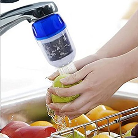 Ainest New Coconut Carbon Home Kitchen Faucet Tap Water Clean Purifier Filter