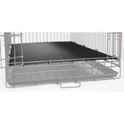 ProSelect Crate Floor Grate - Black Large