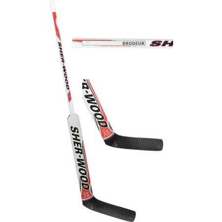 Martin Brodeur New Jersey Devils Player-Issued White and Black Sherwood Goalie Stick - Fanatics Authentic Certified Black Goalie Jersey