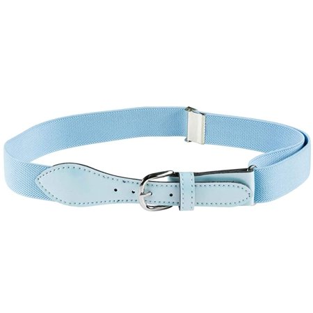 Kids Elastic Adjustable Strech Belt with Leather Closure (Available in 30 Colors) ()